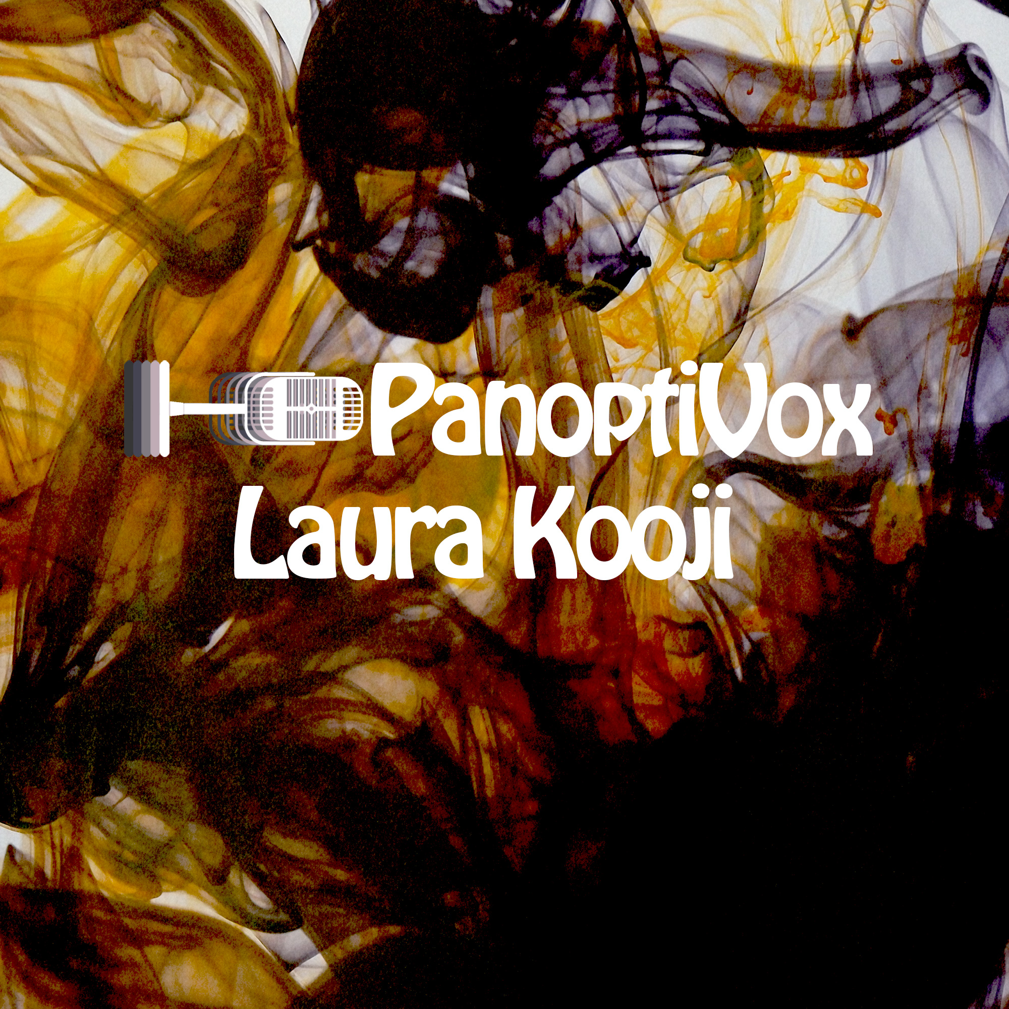 Panoptivox Podcast featuring poet Laura Kooji