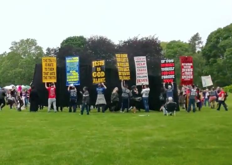 Hate 'preachers' at Hamilton Pride